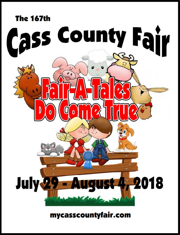 2018 Cass COunty Fair Book